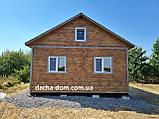 Дачний будинок 6*10 з терасою, фото 6