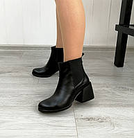 Женские Челси на каблуке натуральная кожа, фото 1