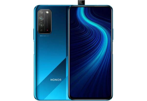 Смартфон Huawei Honor X10 6/64Gb BlueHiSilicon Kirin 820 4300 мАч