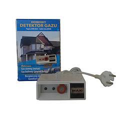 Сигнализатор газа (метан, пропан-бутан, угарный газ) MAXI/C
