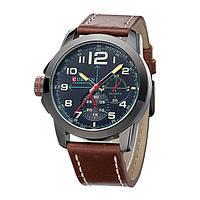 Мужские часы Curren 8182 brown white, фото 1