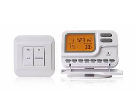 Термостат комнатный KG Elektronik C7 RF  (программа 7 дней) без проводной  белый