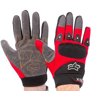 Мотоперчатки FOX размер M-L цвета в ассортименте