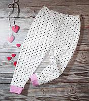 Детские пижамные штаны для девочек разные размеры
