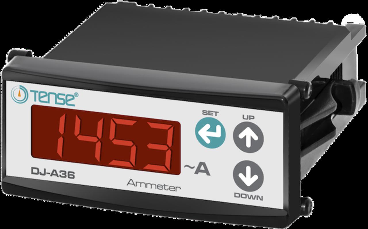 Электронный амперметр TENSE щитовой 78х36  переменного тока