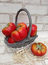 Помідор - муляжі овочіі з пластику, 9х5 см., 23/30 грн (ціна за 1 шт. + 7 грн.)