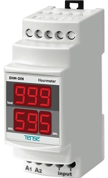 Счетчик времени работы времени наработки счетчик моточасов электронный цифровой на DIN рейку