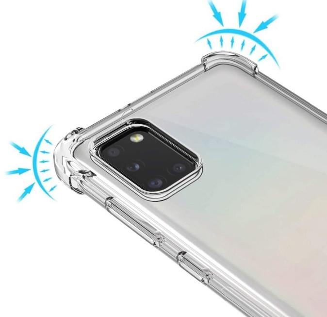 Противоударный прозрачный чехол для Samsung Galaxy A31/A315