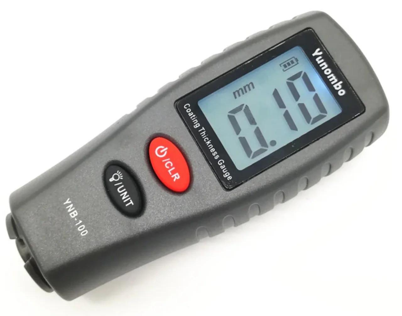 Товщиномір автомобільний Yunombo YNB-100 (вимірювач товщини автомобільної фарби)