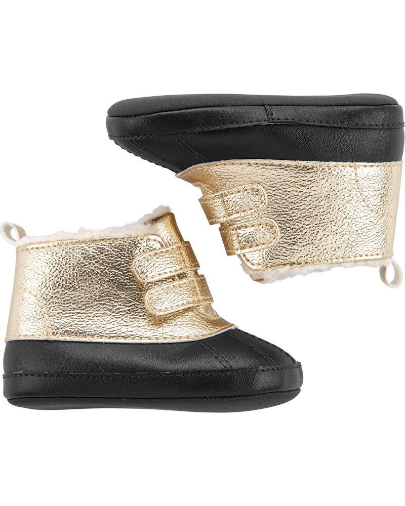 Пинетки ботинки Carters Картерс, первая обувь малыша, обувь для новорожденных  6-9M-11,5 см 9-12М-12,3 см
