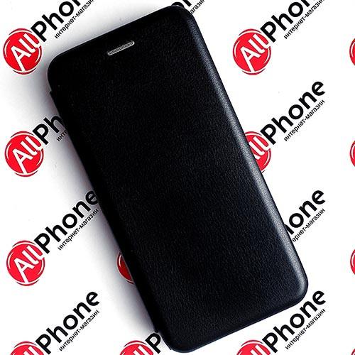 Чехол-книжка Premium Leather Case Black для Xiaomi Redmi 9A