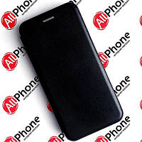 Чехол-книжка Premium Leather Case Black для Xiaomi Redmi 9A, фото 1