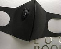 5 штук / Защитная Маска Питта с клапаном Черная Pitta респиратор с фильтром черная японская япония, фото 1