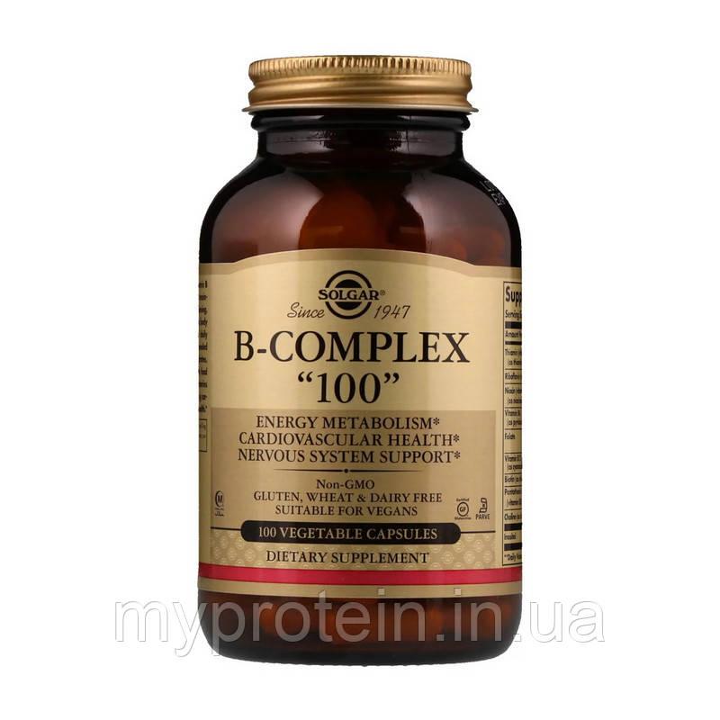 Solgar    Витамин  B комплекс B-Complex 100100 veg caps