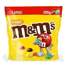 M&M's Peanut Шоколадное драже с арахисом 300g