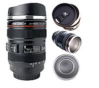 Термокружка термочашка объектив Canon 24-105 350 мл Термос