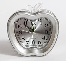 Настольные часы будильник  Ruwang RW 912. Серебристого цвета