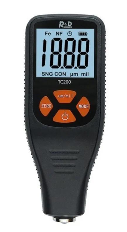 Толщиномер автомобильный R&D TC200 (измеритель толщины автомобильной краски)