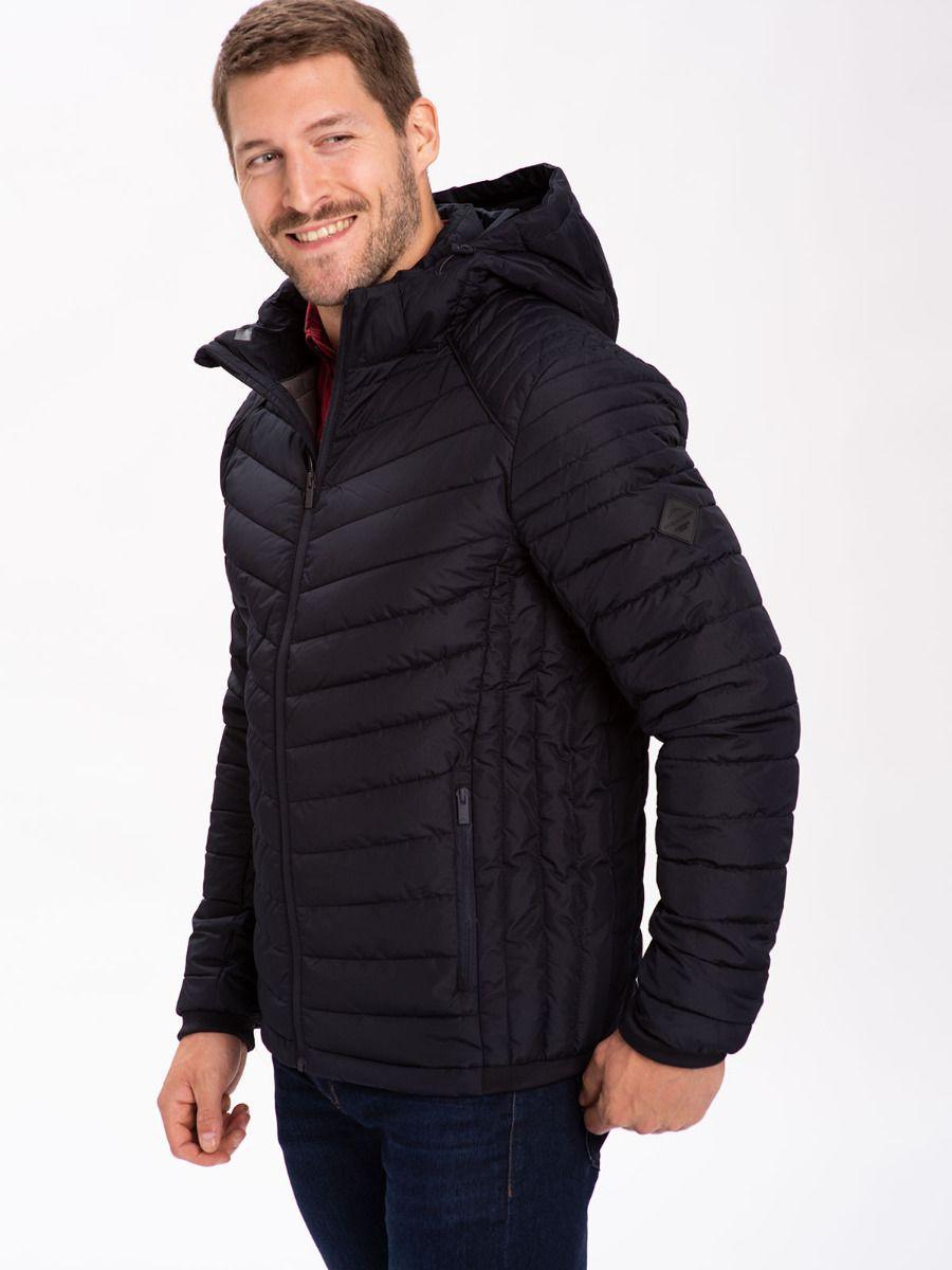 Демисезонная мужская синяя куртка Volcano J-Avil M06109-600