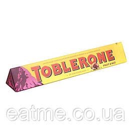 Toblerone Швейцарский молочный шоколад с изюмом