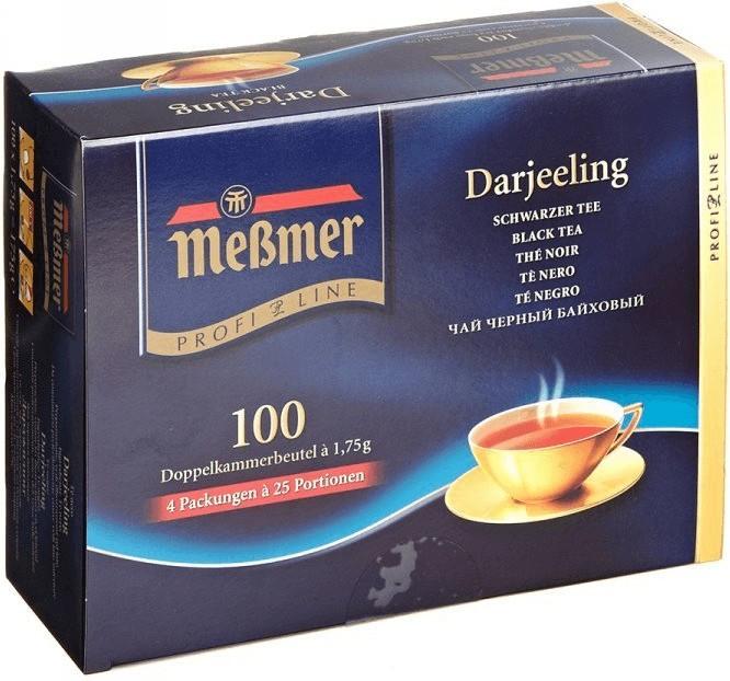 Чай Мессмер ( Meßmer - Messmer ) ProfiLine Дарджилінг 100 пакетиків