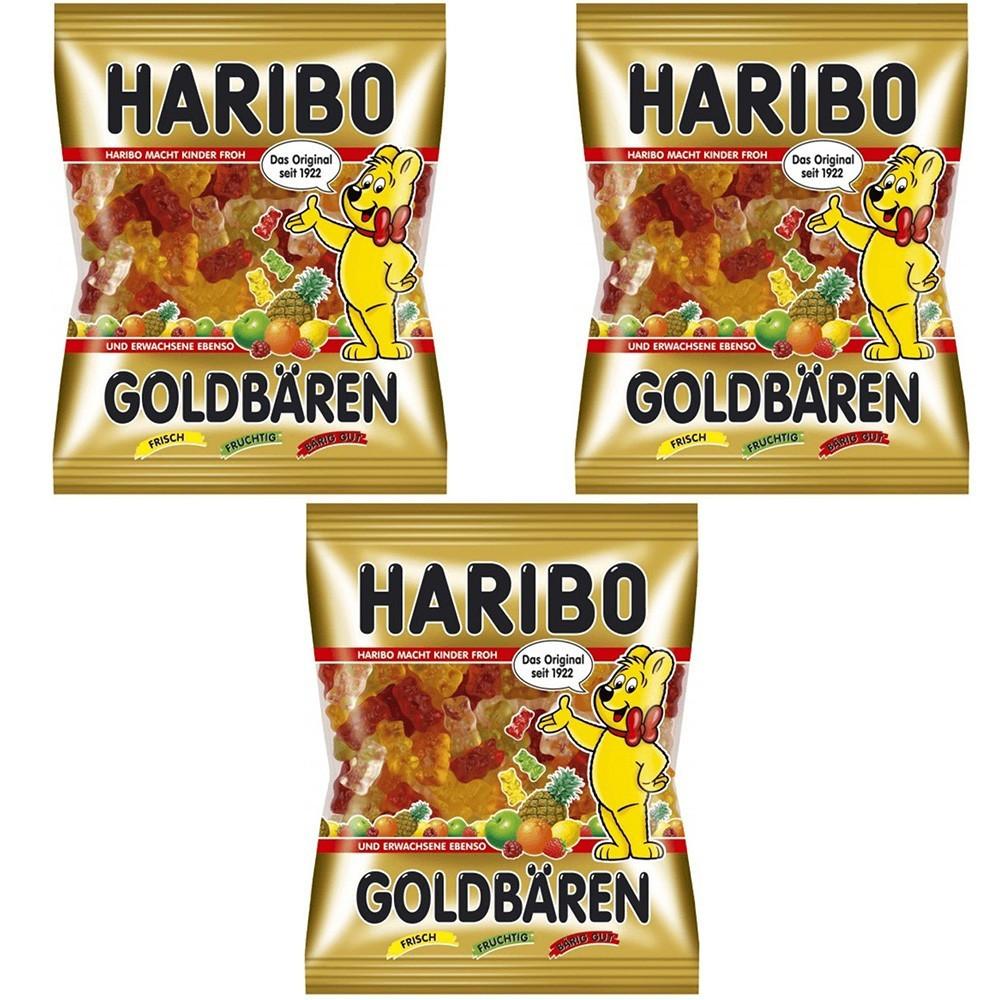 Конфеты жевательные HARIBO Золотые медведи 360 г *3 шт (1080 г)