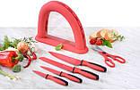 Набор ножей Gräwe Cleancitchen из 5 предметов, красный, фото 2