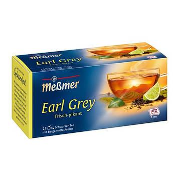Чай черный Мессмер ( Meßmer  - Messmer ) Earl Grey 25 пакетиков
