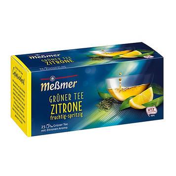 Чай зеленый Мессмер ( Meßmer  - Messmer ) с лимоном 25 пакетиков