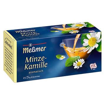 Чай Мессмер ( Meßmer  - Messmer ) травяной чай мята-ромашка 25 пакетиков