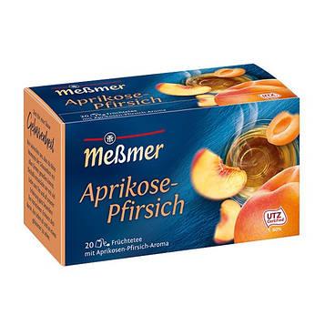 Фруктовый чай Мессмер ( Meßmer  - Messmer ) абрикосово-персиковый 20 пакетиков