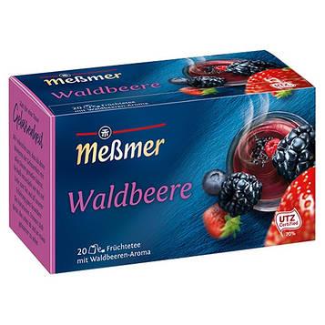 Фруктовый чай Мессмер ( Meßmer  - Messmer ) лесные ягоды 20 пакетиков