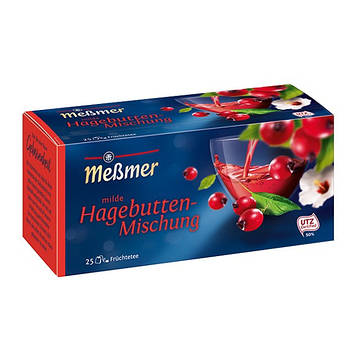 Чай фруктовый Мессмер ( Meßmer  - Messmer ) смесь шиповника 25 пакетиков