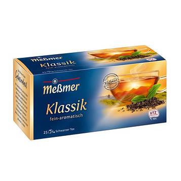 Чай черный Мессмер ( Meßmer  - Messmer ) классический 25 пакетиков