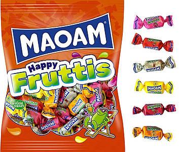 Жевательные конфеты HARIBO Maoam Happy Fruttis разные вкусы 175 г