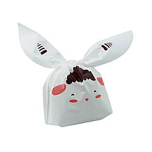 Подарочный пакет с ушками 50 шт, овечка
