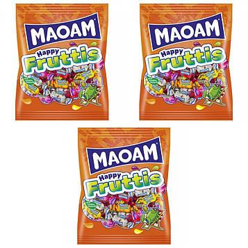 Жевательные конфеты HARIBO Maoam Happy Fruttis разные вкусы 3 * 175 г (525)