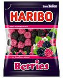 Конфеты жевательные HARIBO Berries ягоды 3 * 200 грамм (600 грамм), фото 2