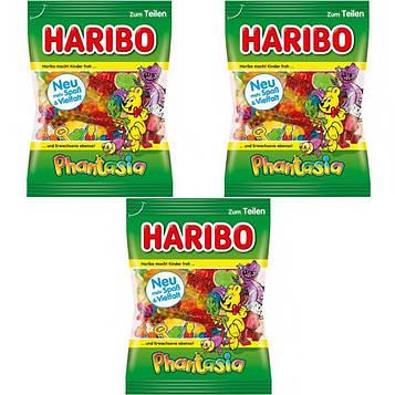 Конфеты жевательные HARIBO Phantasia фантазия 3 * 200 грамм (600 грамм)