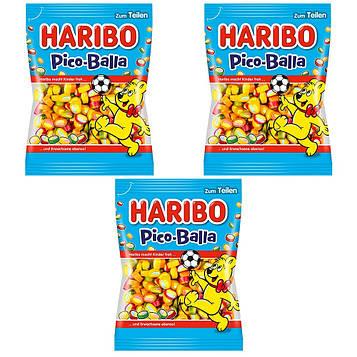 Конфеты жевательные HARIBO Pico-Balla 3 * 175 грамм (525 грамм)