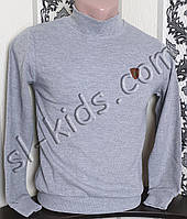 Гольф-стійка на хлопчика 134-164 см FIGO (сірий)(опт)