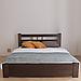 Кровать деревянная двуспальная Геракл с низким изножьем (массив бука), фото 2