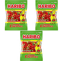 Конфеты жевательные HARIBO Happy Cheries 3 * 200 грамм (600 грамм)