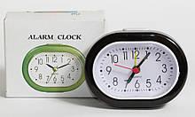 Настольные часы, будильник XINDA-117 с черным корпусом