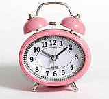 Настольные часы-будильник SN style-2883 розового цвета, фото 2