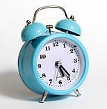 Настольные часы-будильник SN style-2882 голубого цвета, фото 5