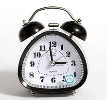 Настольные часы-будильник SN style-2850 черного цвета, треугольные