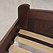 Ліжко дерев'яне двоспальне Едель (масив бука), фото 4