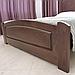 Ліжко дерев'яне двоспальне Едель (масив бука), фото 7