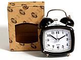 Настільний годинник-будильник SN style-2845 чорного кольору, фото 2